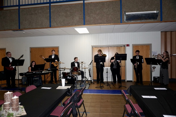 Jazz Band Students