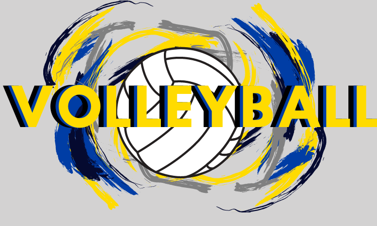Image that says volleyball