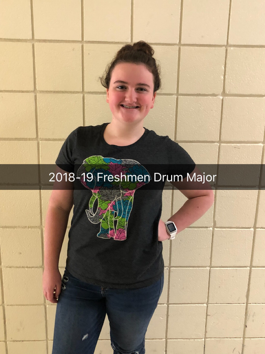 Freshman Drum Major
