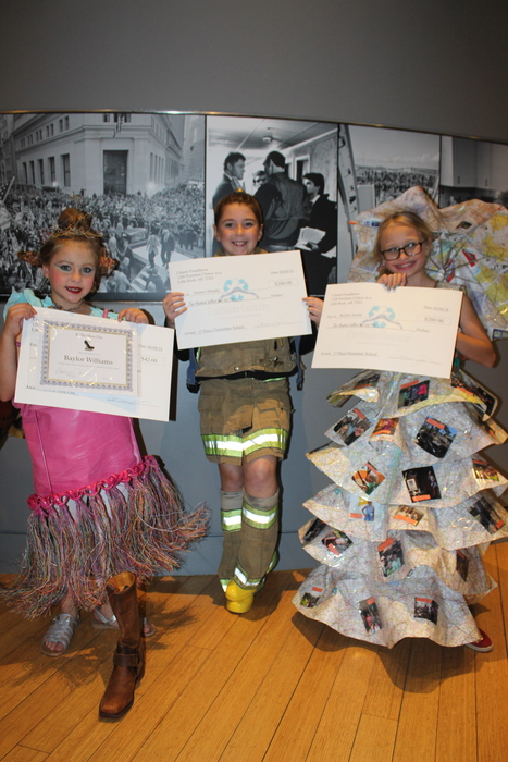 Winners at the Curbside Couture fashion show