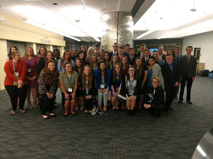 Picture of FBLA Students