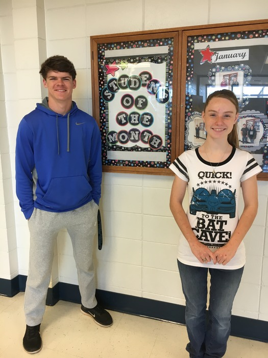 Sophomore March Students of the month