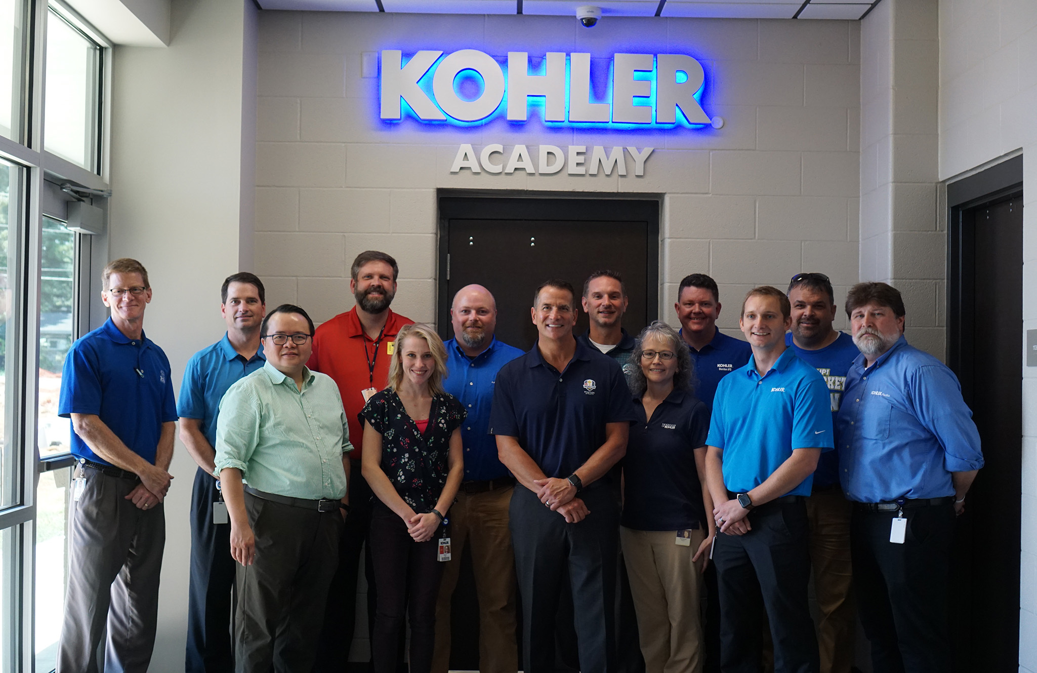 Kohler Academy group photo