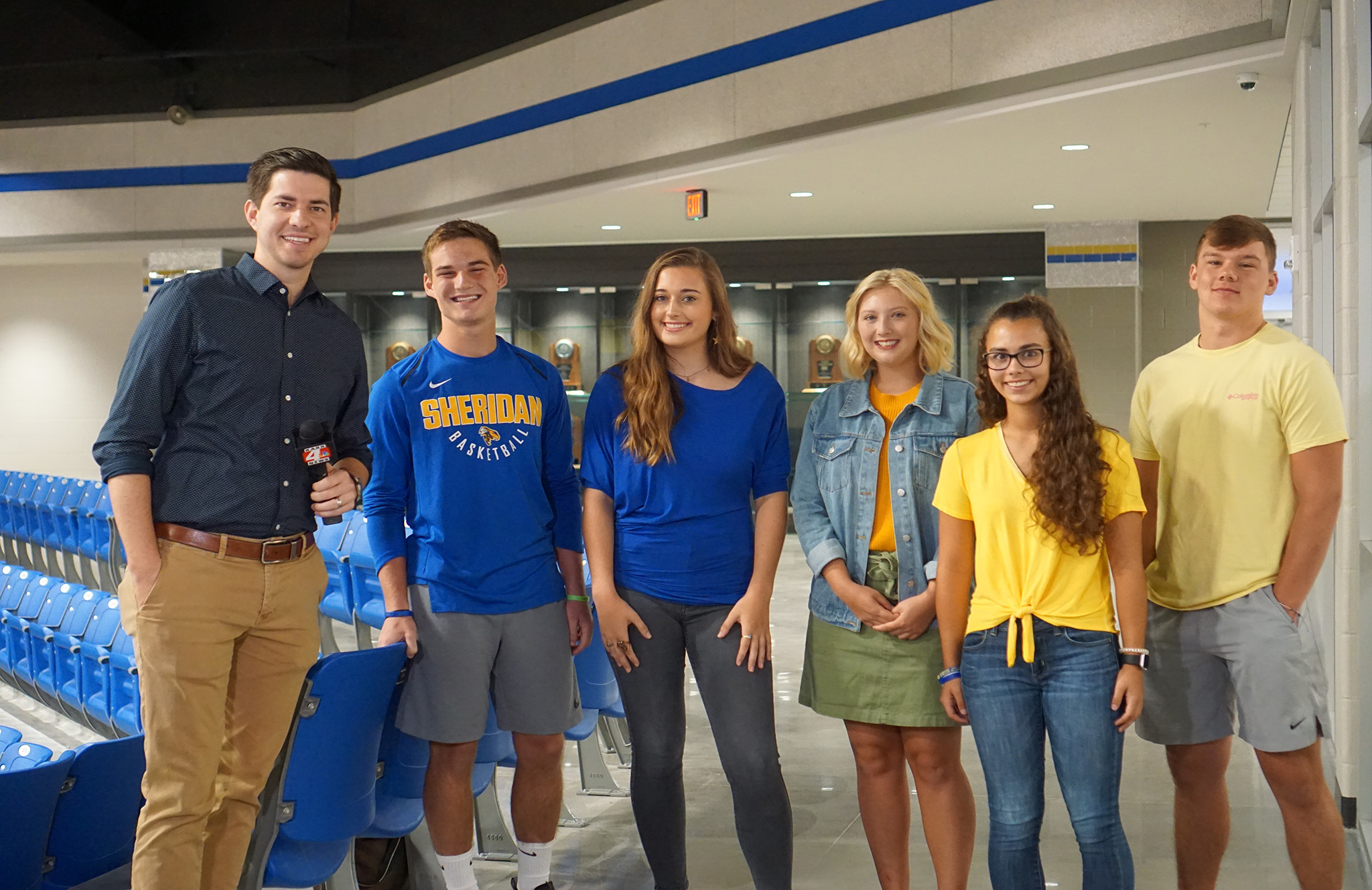 Channel 4 visits SHS