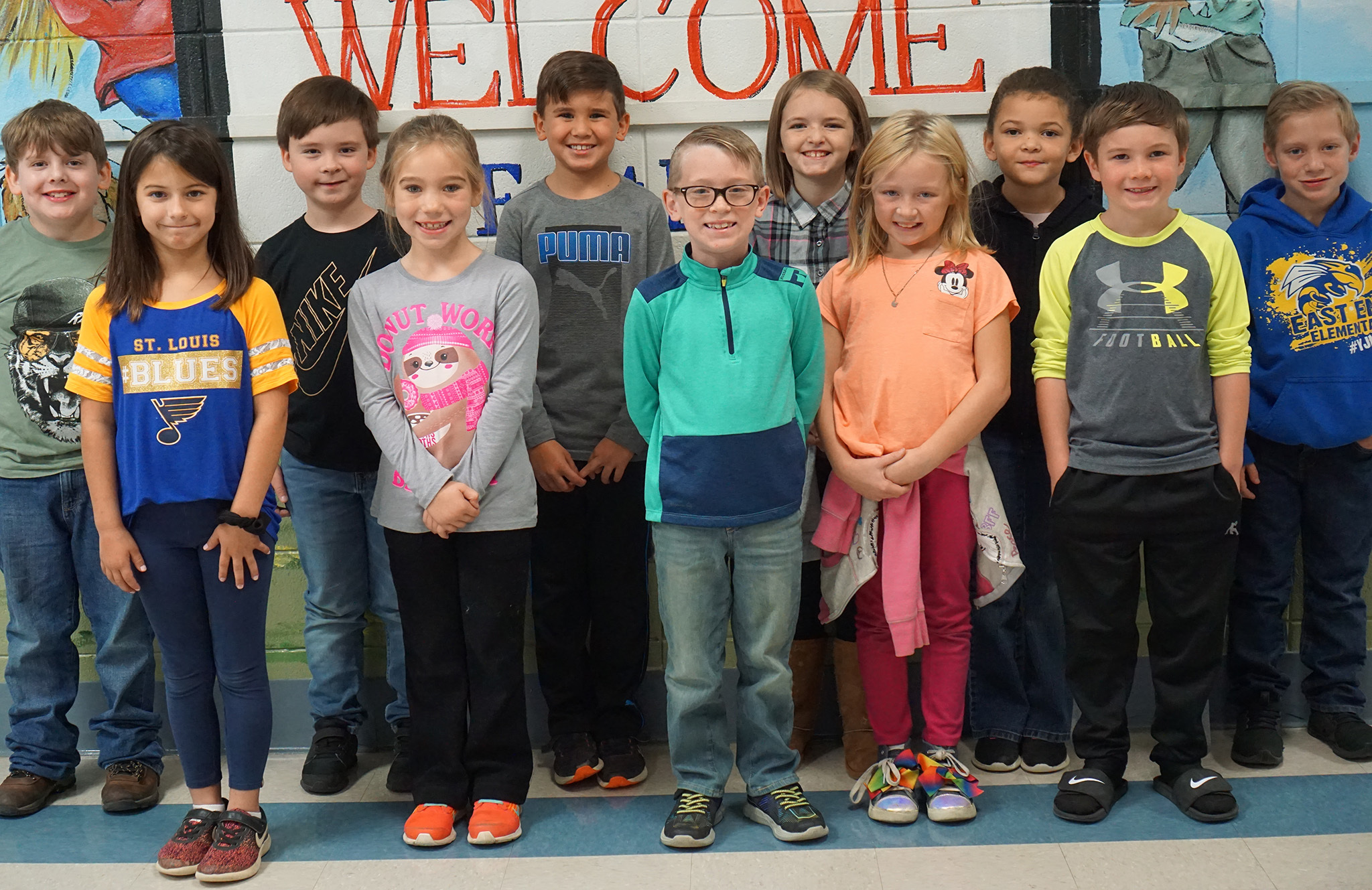 Picture of 1st grade ambassadors