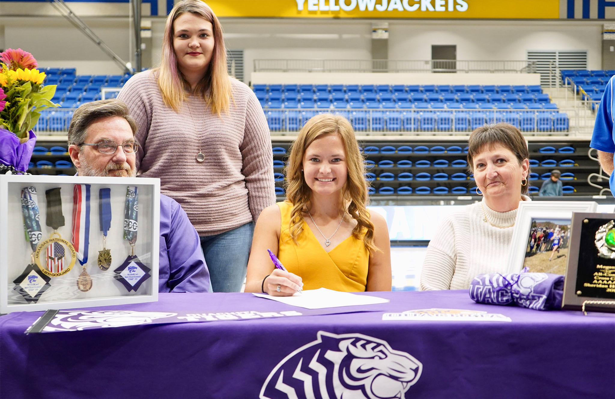 Megan Monk signs letter of intent