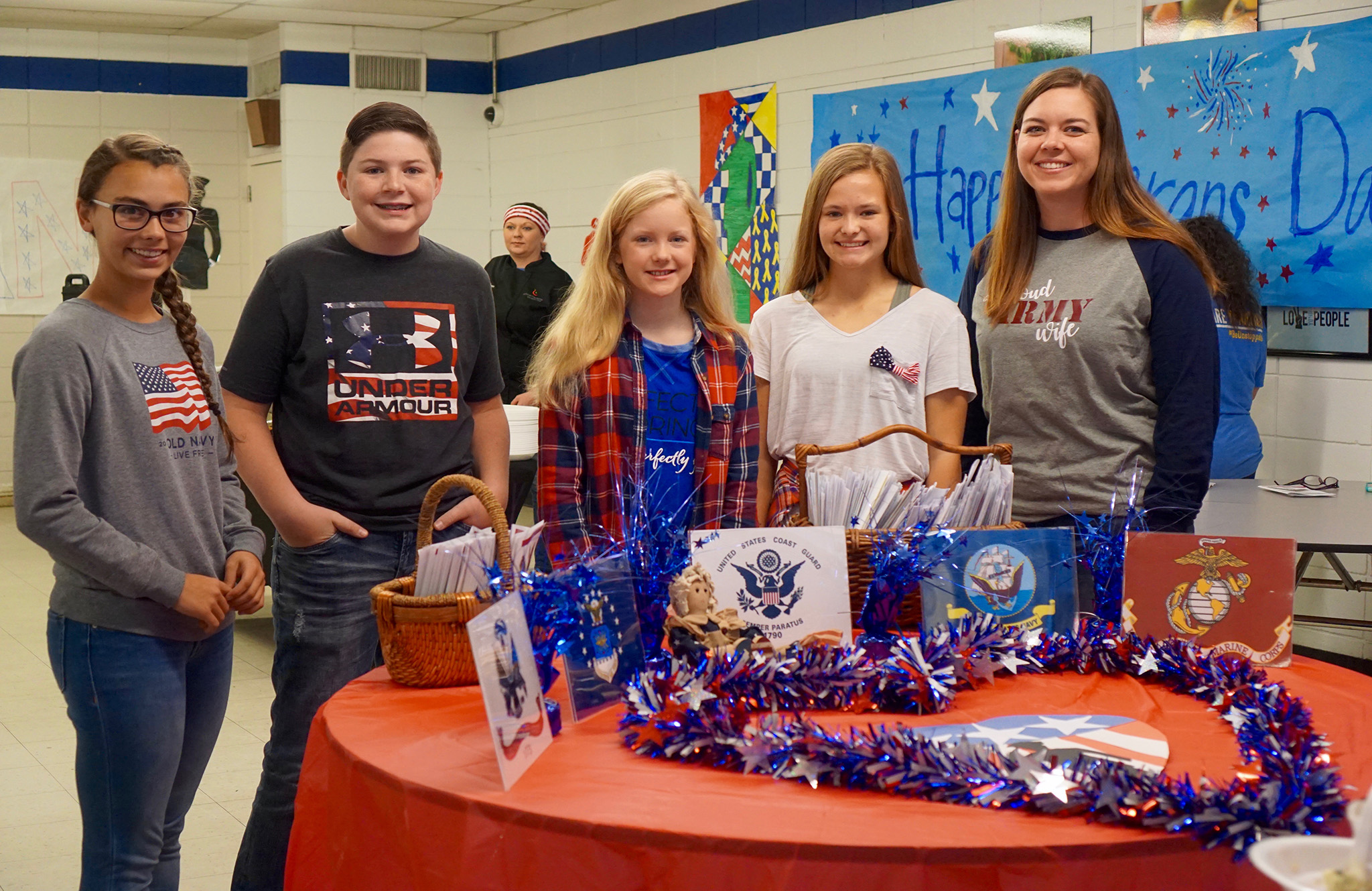 SJHS Honors Veterans