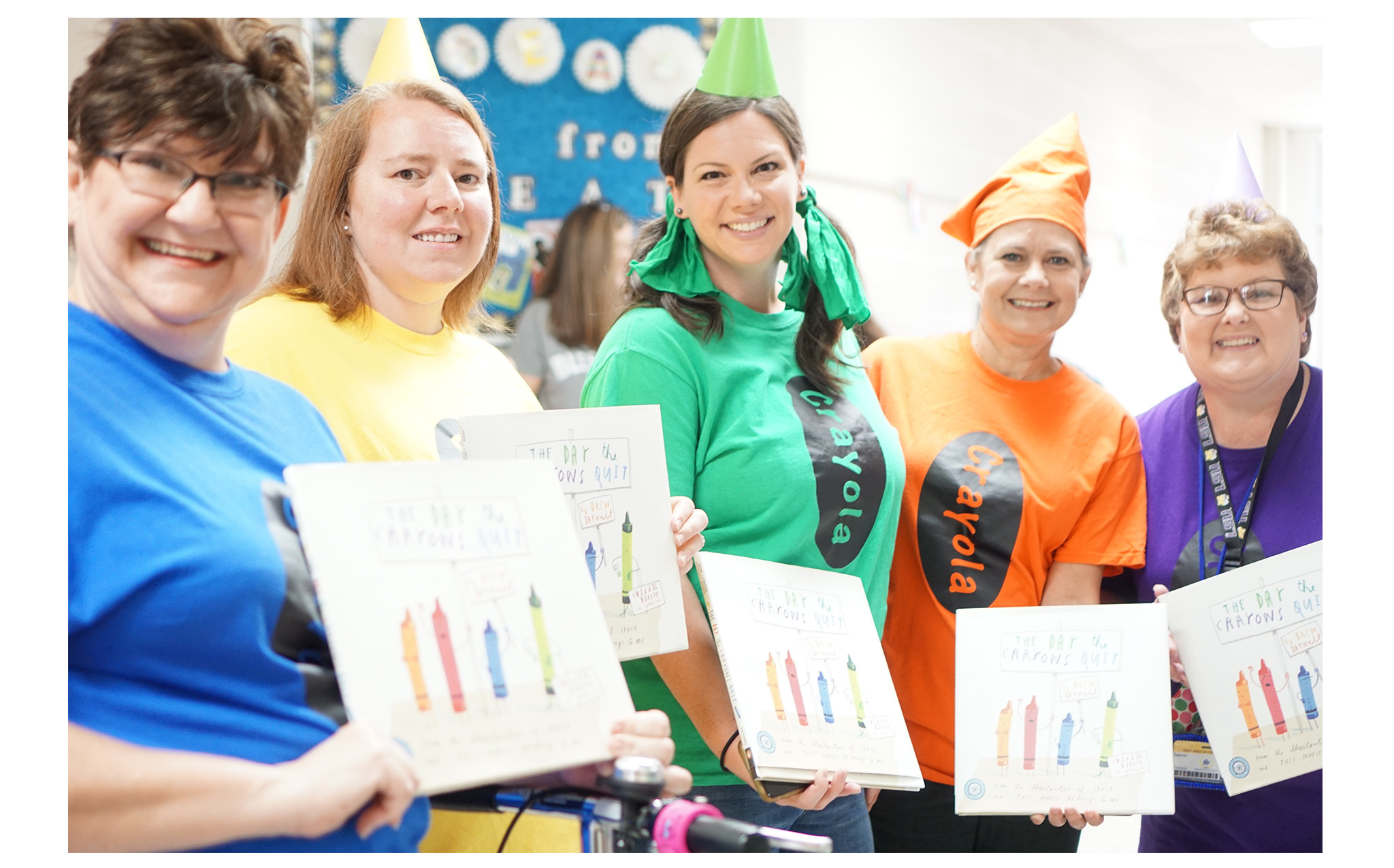 Teachers with a Crayon book