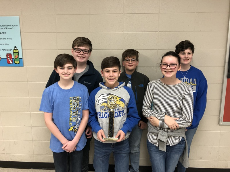 SMS earns third place in Regional Quiz Bowl Tournament