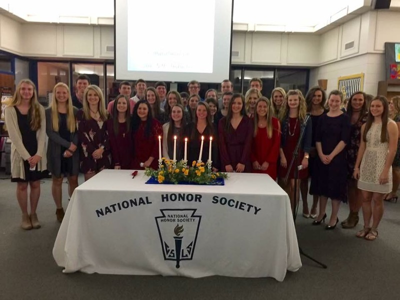 Congratulations to the new members of the SHS National Honors Society