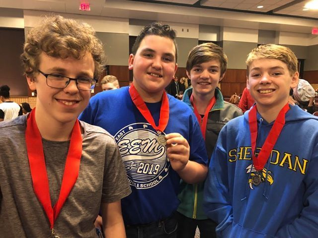 Two EEM Teams Earn Top Spots in State's National History Day Virtual Competition