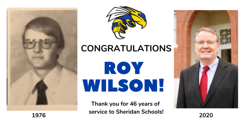 Roy Wilson retires after 46 years of service to the Sheridan School District