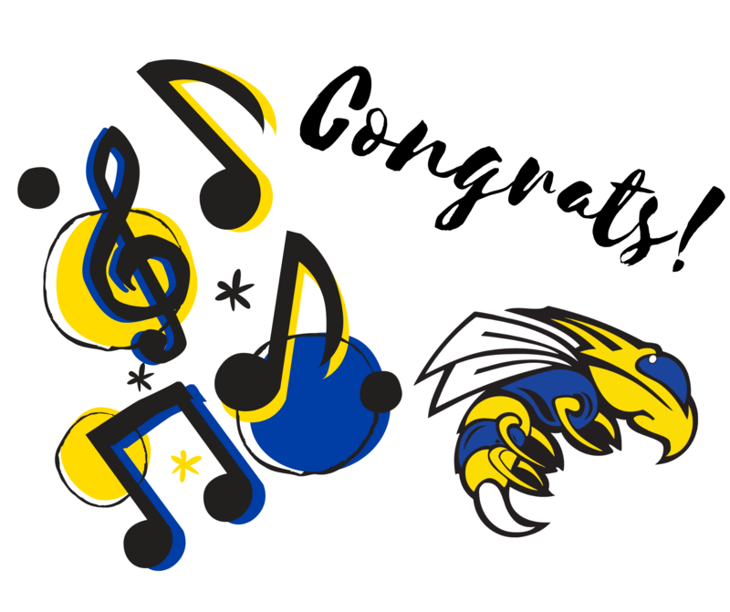 Congratulations to Our All-Region Jazz Band and Choir Students!