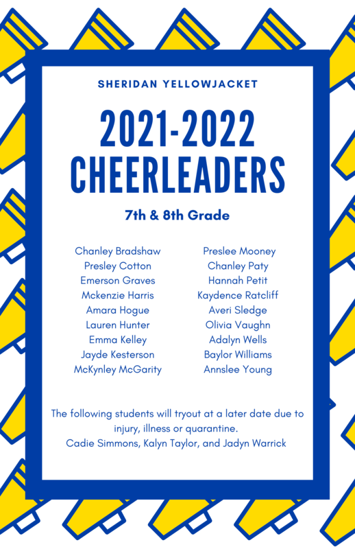 SSD Announces the 2021-22 Cheerleaders