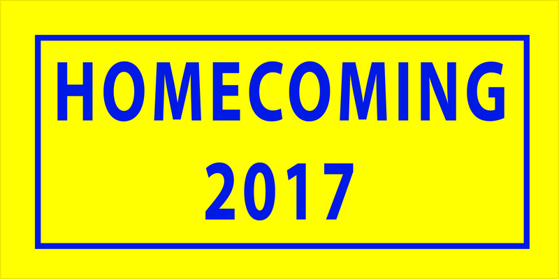 Infographic Showing Homecoming of 2017
