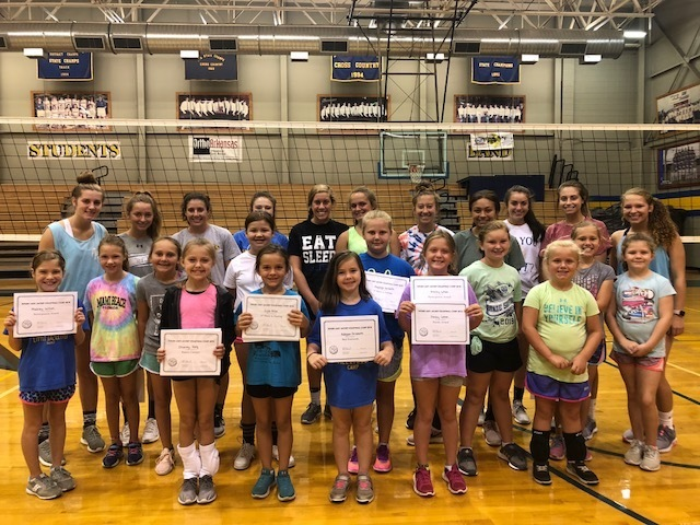 Lady Jacket Volleyball Camp