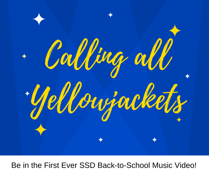 Image that Says Calling All Yellowjackets