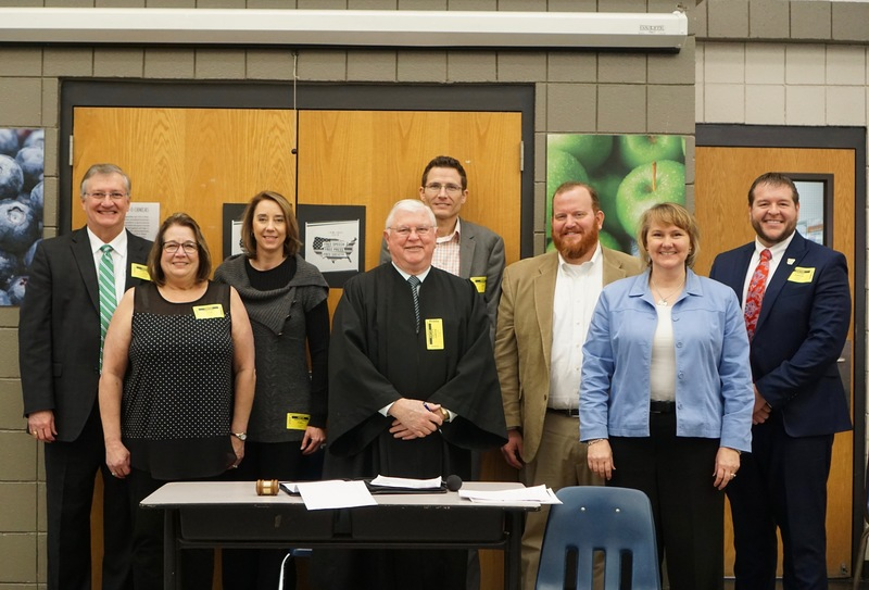 Grant County Bar Association Performs Skit to 5th Grade Students for Law Day