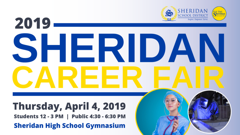 Image that Says Sheridan Career Fair