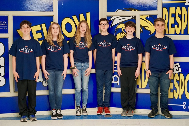 Image of 6 FBLA Students