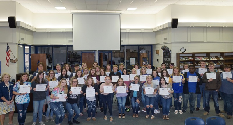 Fifty Students Earn National Career Readiness Certificate