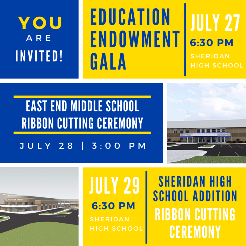 SSD to Host Education Endowment Gala and Two Ribbon Cutting Ceremonies
