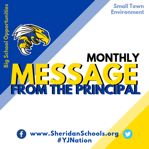 Principal's Monthly Message - August