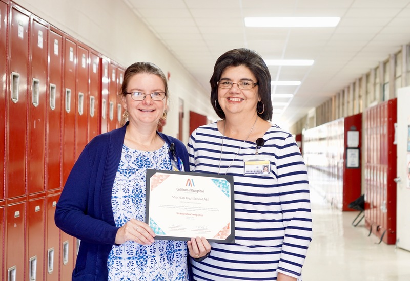 SSD Teacher Lynn Summit Recognized for Excellent Outcomes in her Alternative Education JAG Program